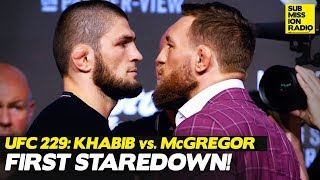 UFC 229: Khabib Nurmagomedov vs. Conor McGregor INTENSE Staredown
