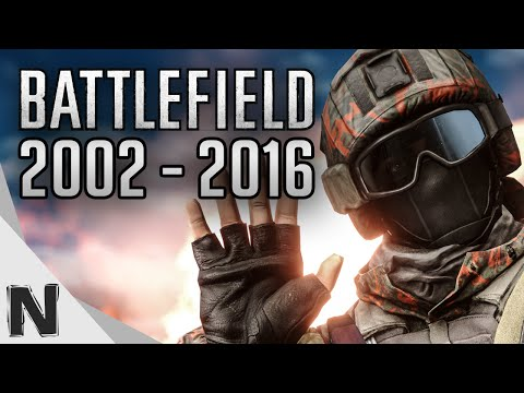 All Battlefield Game Trailers Evolution (2002-2016) Battlefield History PS4 Xbox One PC PS3 Xbox360