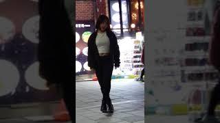 2018.3.20&걷고싶은거리&홍대&찰리두마리치킨앞&버스킹&댄스팀&Diem(채은)&by큰별