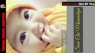 Yaar Trudeau song_ Sone Rangiye tanu sone che maanadeya(kambi singer) cute baby WhatsApp status#2018