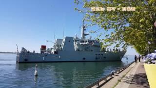 토론토 Sugar Beach  Goose Bay ship and Allan Gardens