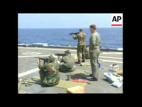 Liberia - US Marines On High Alert