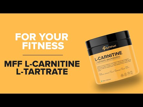MFF L-Carnitine L-Tartrate, For your lean muscle goals. Pure & Authentic
