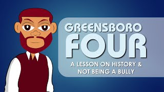 Greensboro Four (Black History) Educational Videos for Students (Cartoon Network for Kids) Bully