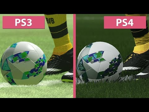 PES 2018 – PS3 vs. PS4 Demo Graphics Comparison
