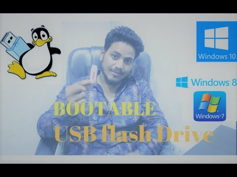 How To Make Bootable USB Pendrive For Window 10 In Hindi