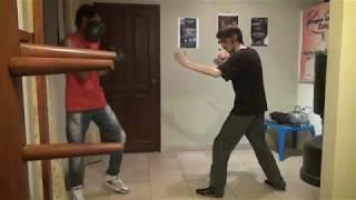 Самый быстрый боец vs ММА  Защита от лоукика