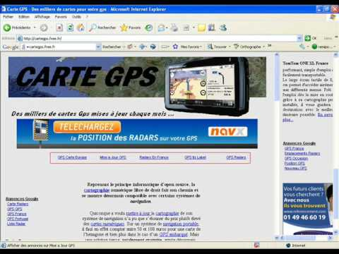 carte gps gratuite youtube. Black Bedroom Furniture Sets. Home Design Ideas