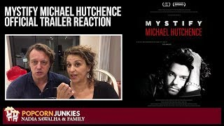Mystify Michael Hutchence OFFICIAL TRAILER - Nadia Sawalha & The Popcorn Junkies REACTION