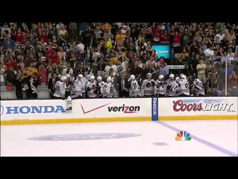 Blackhawks strike twice in 17 seconds 6/24/13