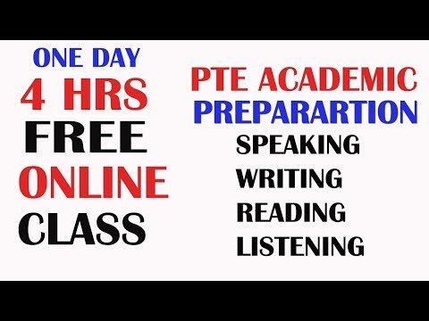 [ 4 HR CLASS ] PTE ONLINE FREE COURSE FOR ALL TRICKS, TEMPLATES TO GET DESIRED SCORES