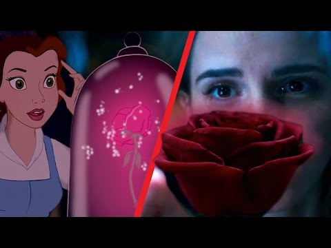 Beauty and the Beast Trailer Comparison: Then and Now (Animated vs. Live Action)