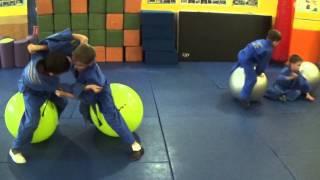 Дзюдо для малышей: ловкость. Centre Judo Kids. Feodosiya