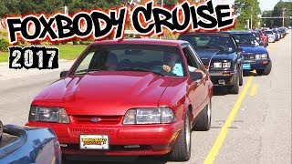 Mustang week 2017 ///foxbody cruise