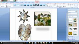 Microsoft Office Word Picrure ,Clipart,Picture Group and Ungrouping
