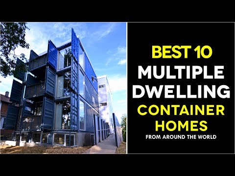 Best 10 Multi-Dwelling Modular Shipping Container Housing Across the World 2017