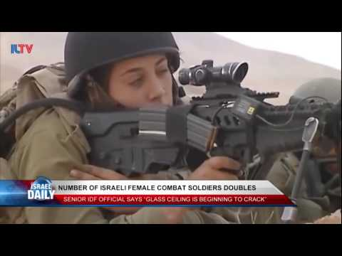 Number of Female Israeli Soldiers Doubles