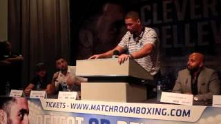 NATHAN CLEVERLY v TONY BELLEW 2 - FULL UNCUT LIVERPOOL PRESS CONFERENCE / REPEAT OR REVENGE