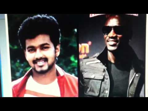 Thuppakki song sing  Vijay and Akon