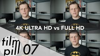 4K, Ultra HD, Full HD, 2K - o co w tym chodzi? | The FILM PILL - 07