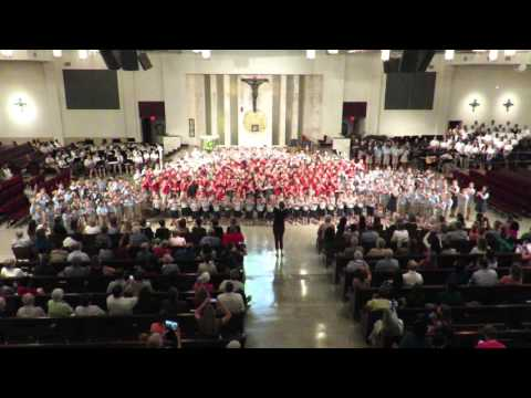 """Soul on Fire"" performed by Queen of Peace Catholic Academy Kids"