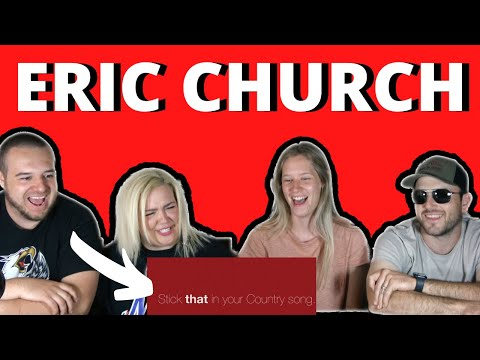 Eric Church - Stick That In Your Country Song (Lyric Video) | COUPLES REACTION VIDEO