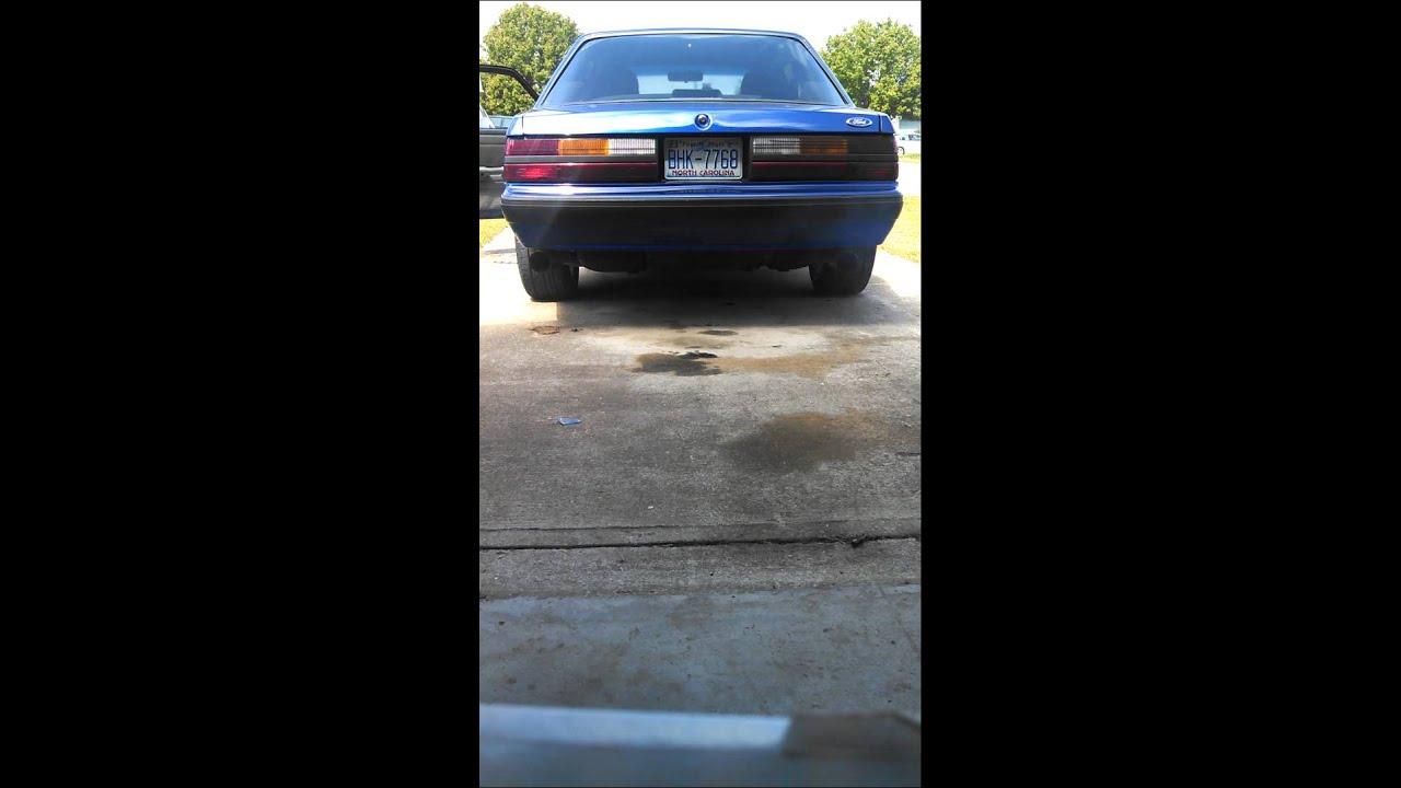 1990 Fox Body Mustang Slp Loud Mouth Exhaust Youtube