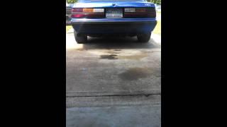 1990 fox body mustang SLP loud mouth exhaust
