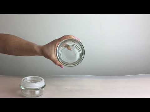 Yankee Clear Candle Jar with Lid