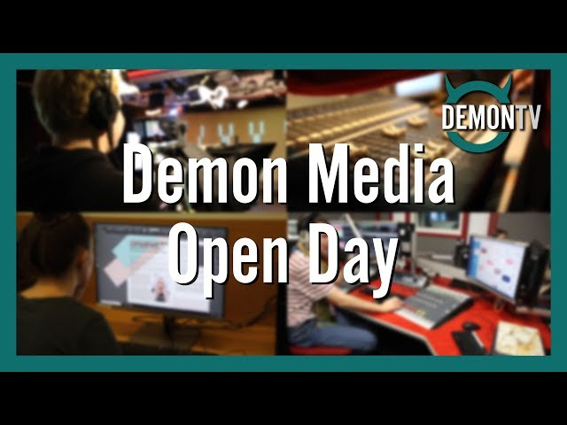 Demon Media Open Day