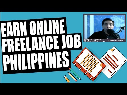 Earn Online Philippines Freelance Extra Income Work At Home