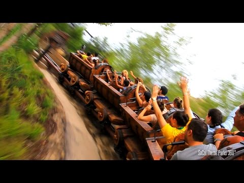 [HD]  Snow White Roller Coaster Ride POV - Seven Dwarfs Mine Train Roller Coaster - Magic Kingdom