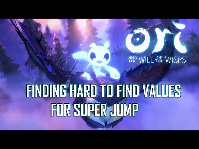 Ori 2: INF JUMPS and SUPER JUMP