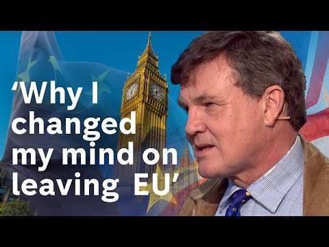 'Why I changed my mind on leaving EU' - Peter Oborne debates Melissa Kite on Brexit