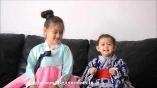 Camilla ThyThy hát tiếng Nhật & Hàn Quốc với em LyLy