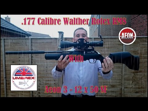The  177 Walther Rotex RM8 & Aeon 3   12 x 50mm SF field review