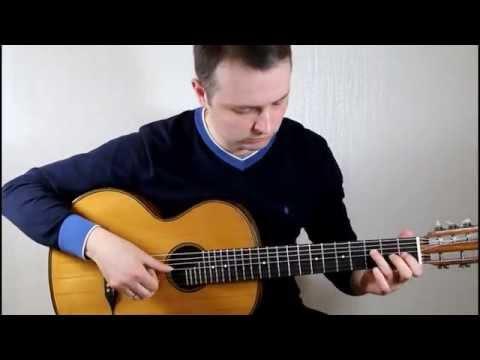 Arthur Kharatian - Отцвели хризантемы (С.Орехов) русская семиструнная гитара
