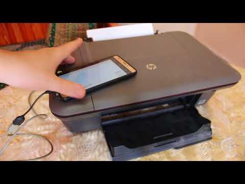 طريقة ربط اي طابعة Canon و Hp بهواتف الاندرويد وطباعة الملفات عليها بوصلة Usb Youtube