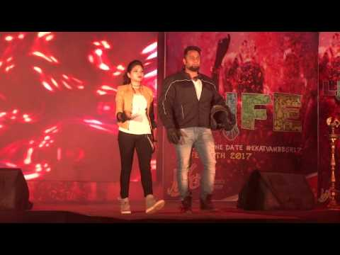 Fashion Show on Ekatvam 2017 Tech Mahindra Bhubaneswar