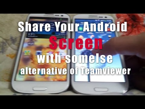 How To Share Android Screen With Someone Else - Alternative Of Teamviewer For Android