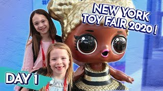 Our First Day of New York Toy Fair 2020