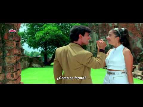 Mera Mann - Mann (sub español) FULL HD  Aamir Khan y Manisha Koirala
