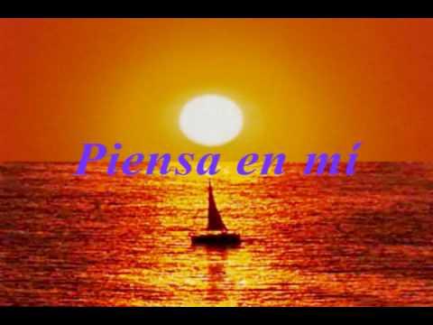Lorenzo Santamaría ♫ Piensa en mí