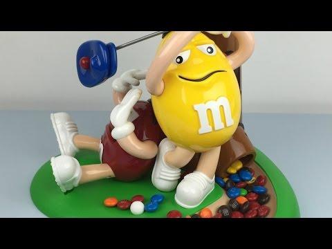 M&M's Golf Dispenser   Dispense M&Ms