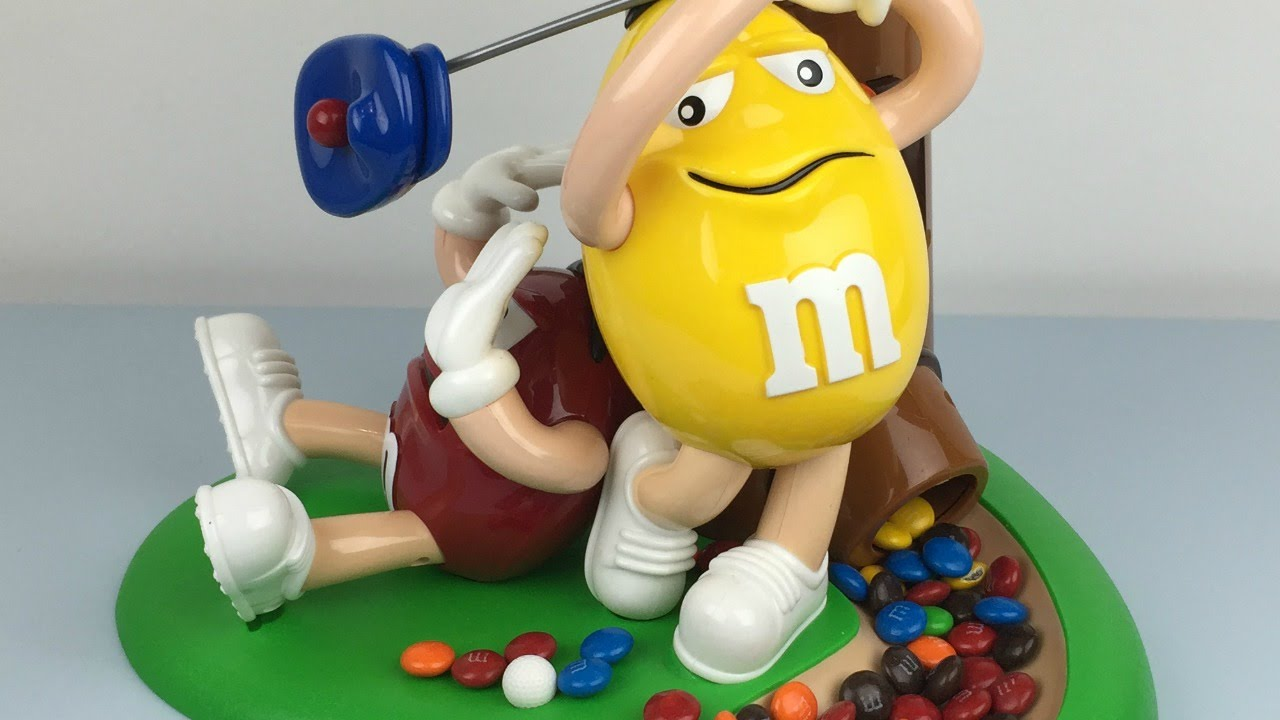 M&Ms Golf Dispenser | Dispense M&Ms