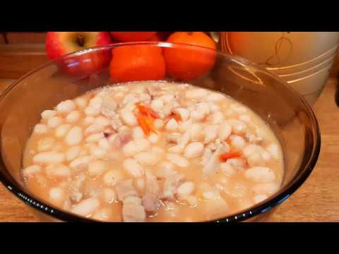 HOW TO COOK BITSUELAS | White Kidney Beans With Pork Belly | Pork And Beans