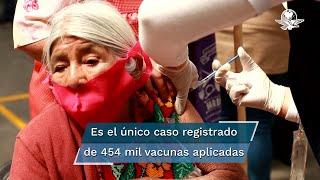 Una mujer de 64 años, falleció en la unidad médica del Instituto Mexicano del Seguro Social de Zacapu, luego de que le fuera aplicada la vacuna CanSino