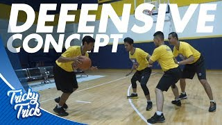 Download lagu Tutorial Basket - Basketball Defense Concept, Triangle defense - Tricky Trick DBL Academy