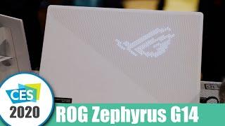 Brutálně silný 14palcový herní notebook - ROG Zephyrus G14 | CES 2020