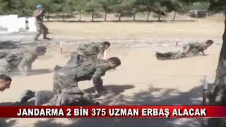 Jandarma 2 bin 375 uzman erbaş alacak (20.07.2018)
